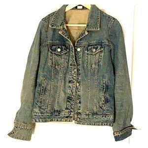 JCrew Vintage Denim Jacket Size M